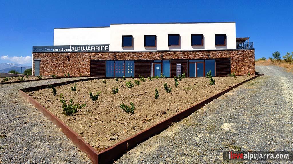 Centro Temático del Vino. Exterior