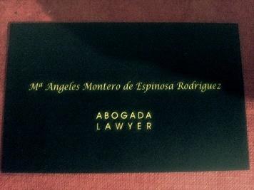 ANGELES MONTERO. ABOGADA