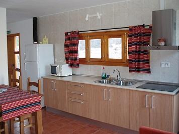 Casa Rural El Albergue de Alboloduy. Interior