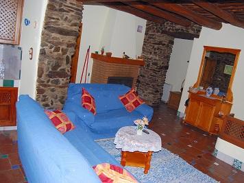 Casa rural Fina. Interior
