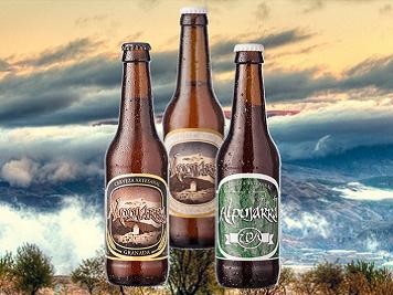 Cervezas Alpujarra. Productos