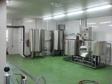 Cervezas Nazari. Fabrica