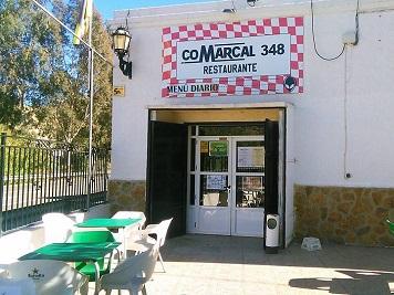 Comarcal 348. Exterior