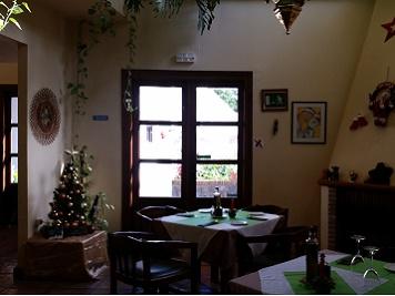 Restaurante Flor de Limonero. Interior