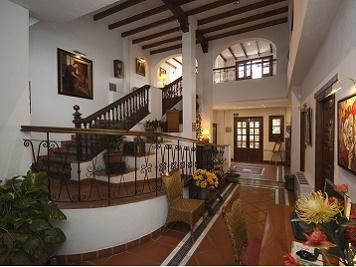 Hotel Alcadima. Interior.