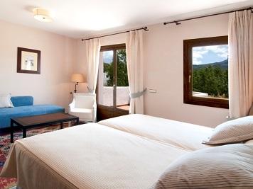 Habitación Hotel Villa de Laujar de Andarax