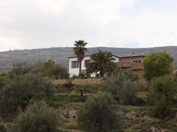 Casa rural Las Ventajas. Exterior
