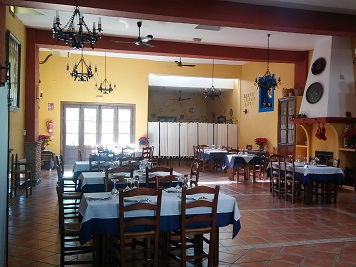La Tahá Restaurante. Interior