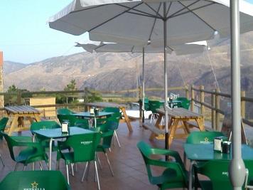 Terraza de Mirador Camping Almócita