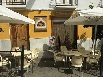 Restaurante, El Refugio Alpujarreño. Exterior